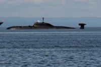 Атомная подводная лодка.