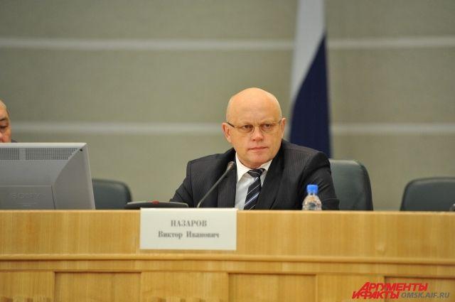 Губернатор Омской области Виктор Назаров.