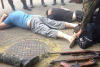Задержание боевиков на Донбассе