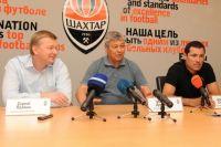 "Пресс-конференция на ""Донбасс Арене"""