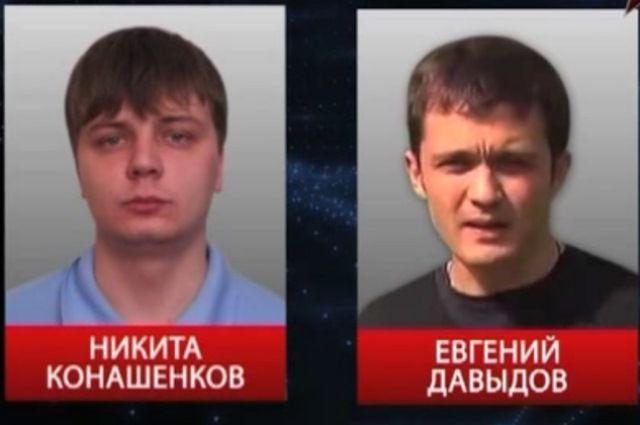 Журналисты телеканала «Звезда» Евгений Давыдов и Никита Конашенков