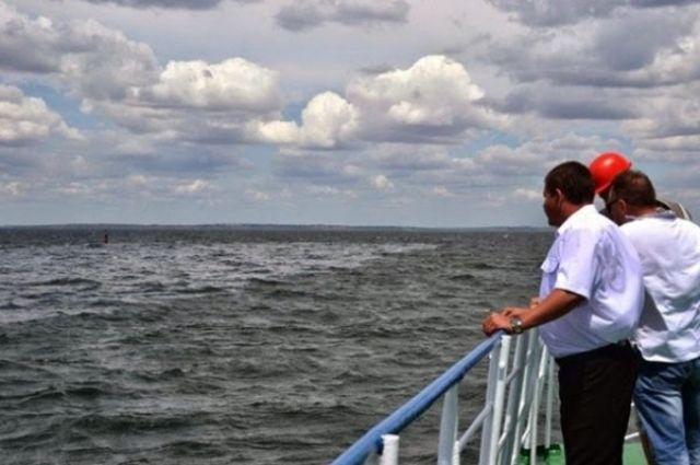 Нефтяное пятно в Черном море