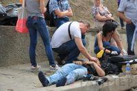 Потасовка у генконсульства РФ в Одессе