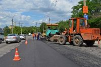 Ремонт дорог в Луганске