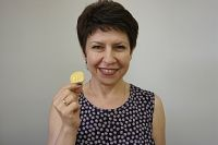 Золотая медалистка Анжелика Петрук.