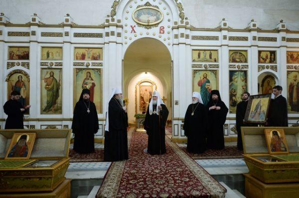В храме в честь иконы Божией Матери «Всех скорбящих Радость» в Рязани и Рязанского кремля»