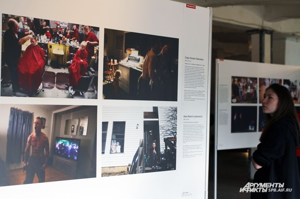 Сара Наоми Льюкович (США) представила серию работ, рассказывающих о семейном насилии.