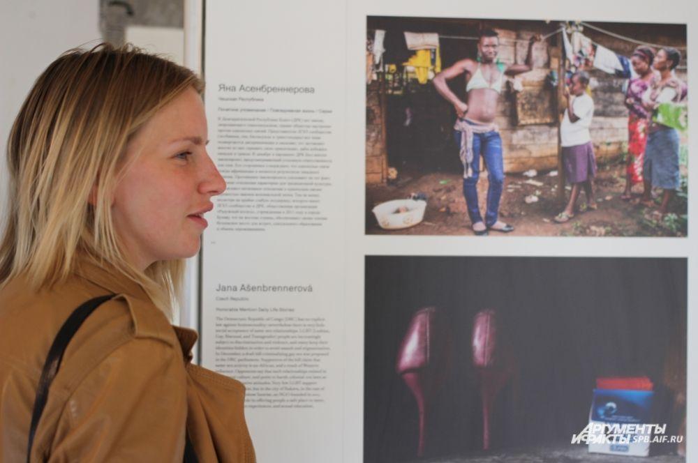 Фотографии Яны Асенбреннеровой (Чешская Республика). Серия работ о жизни гомосексуалистов в Демократической республике Конго.