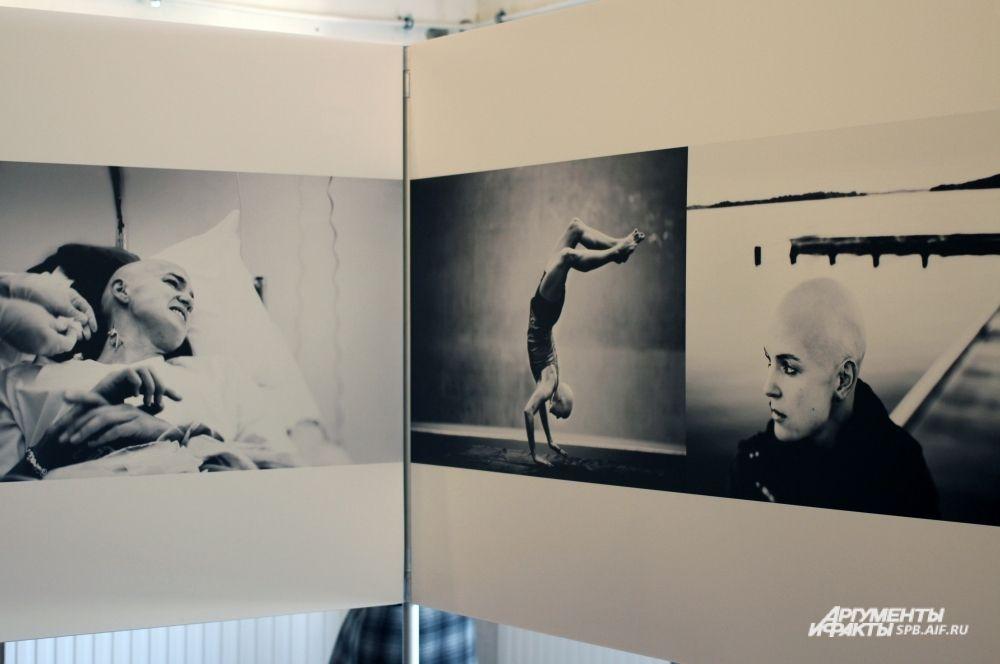 Семиборка Надя Касадей принимала участие в чемпионатах мира и Европы по легкой атлетике, до того, как летом 2013 года у нее был диагностирован рак лимфатической железы. Фотограф Петер Хольгерсон (Швеция).