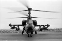 Армейский боевой вертолет Ка-50 «Черная акула».