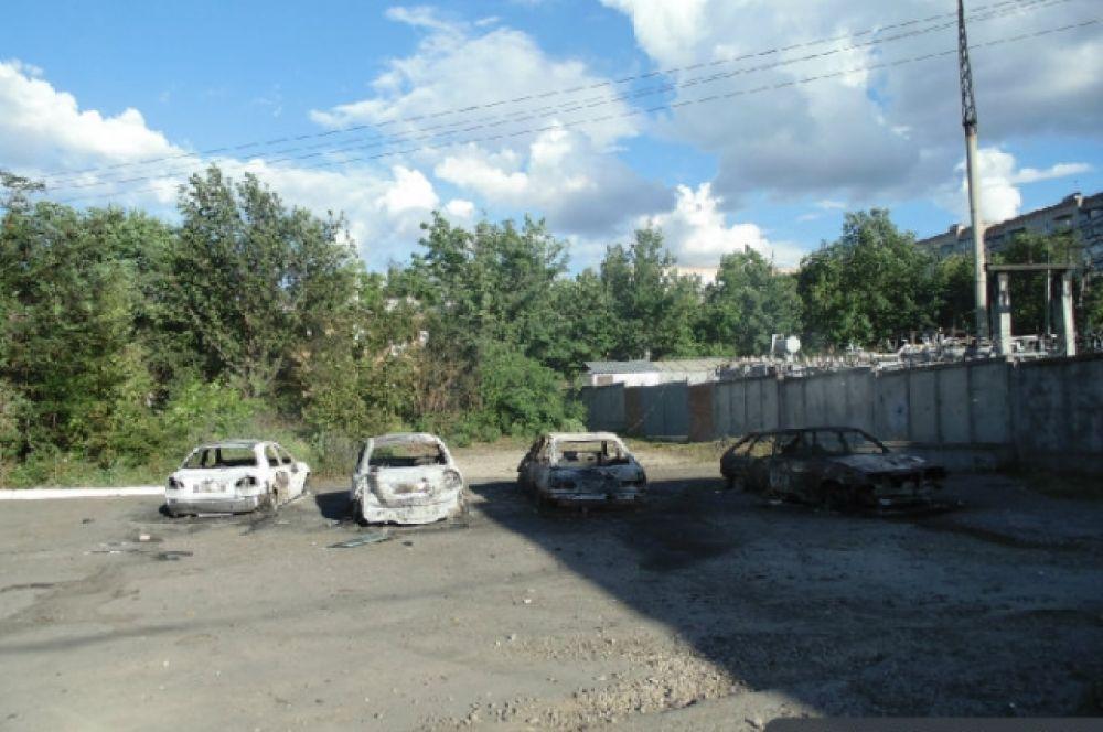 Боевики обстреляли Краматорск
