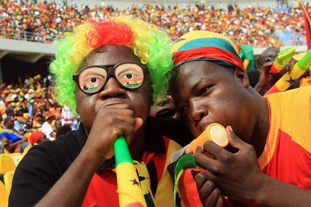Болельщики сборной Ганы