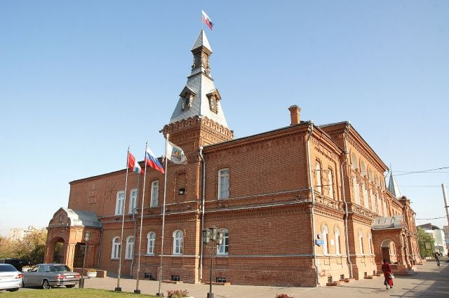 Здание Омского горсовета.