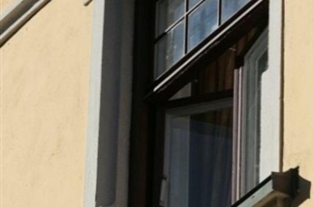 Открытые окна очень привлекают маленьких детей.