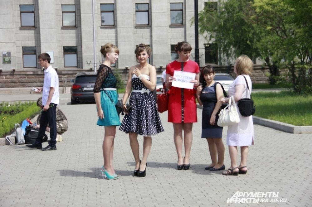 Девушки из Иркутского района.