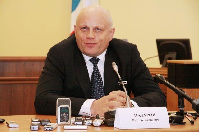 Выступает ли Виктор Назаров за объединение областей.