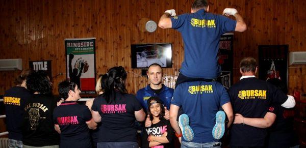 Команда боксера Макса Бурсака