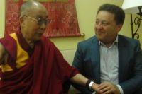 Далай Лама и Александр Фельдман