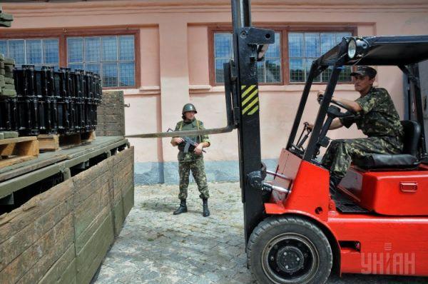 Нагрузка частей ходовой танка на грузовик