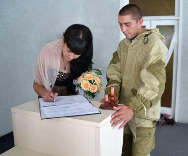 Десантник из Николаева женился после ранения