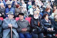 Хабаровские ветераны на параде Победы