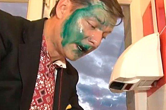 Олег Ляшко в зеленке