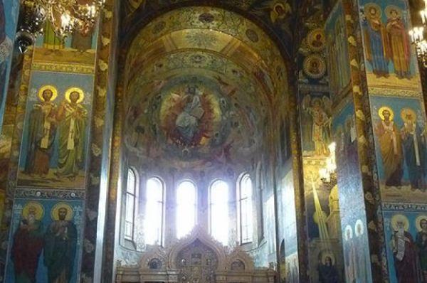 Мозаичная экспозиция Спаса-на-Крови является одной из крупнейших коллекций в Европе.