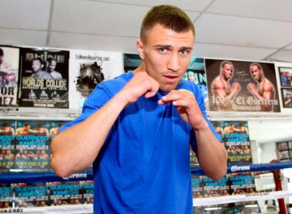 Открытая тренировка боксера Василия Ломаченко