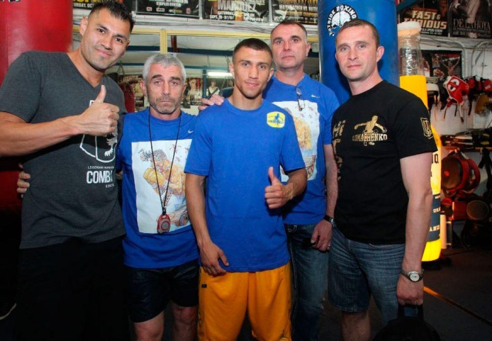 Команда Ломаченко в США