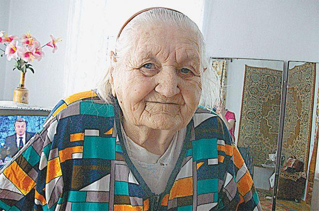 Вера Косицына.