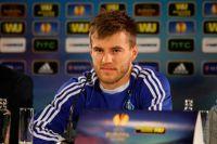 Нападающий киевского Динамо Андрей Ярмоленко