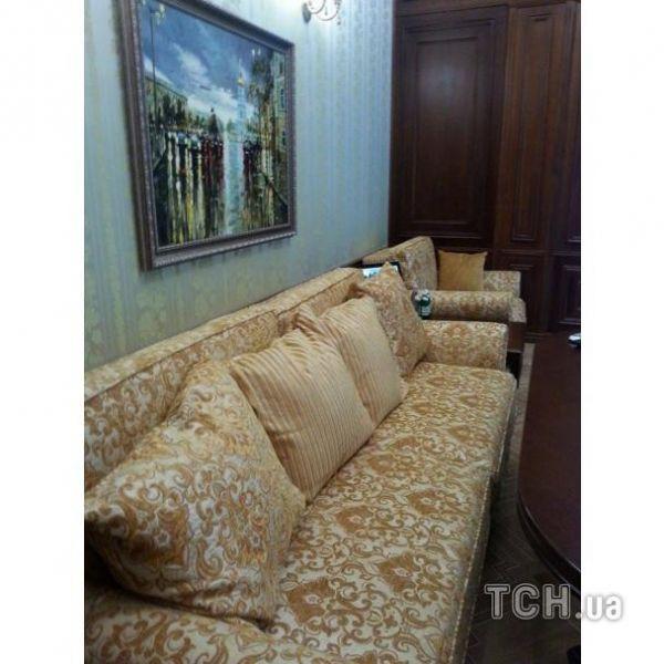Мебель в кабинете бывшего генпрокурора Виктора Пшонки