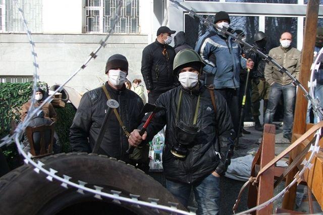 Неизвестные на Донбассе