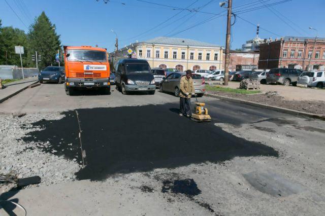 Утвержден дополнительный список дорог для ремонта в Екатеринбурге