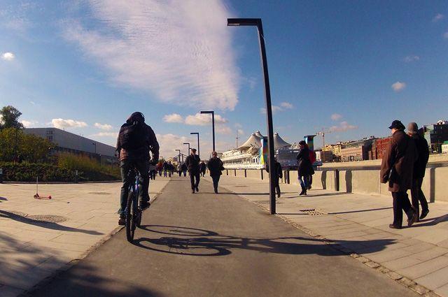 Велодорожка Музеон - Парк победы