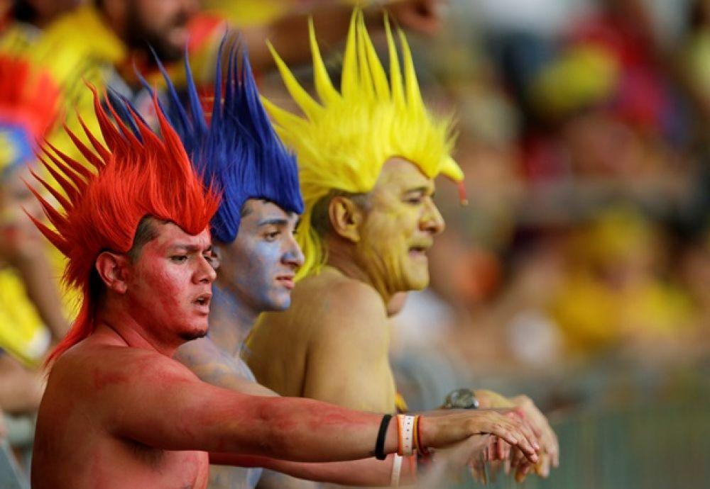Болельщики на ЧМ-2014 в Бразилии