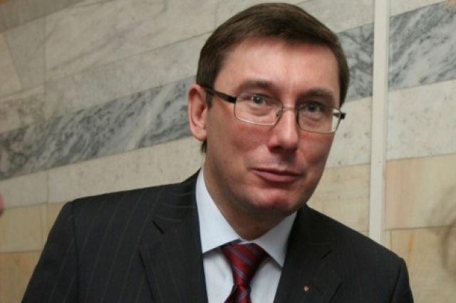 Юрий Луценко, советник президента Украины
