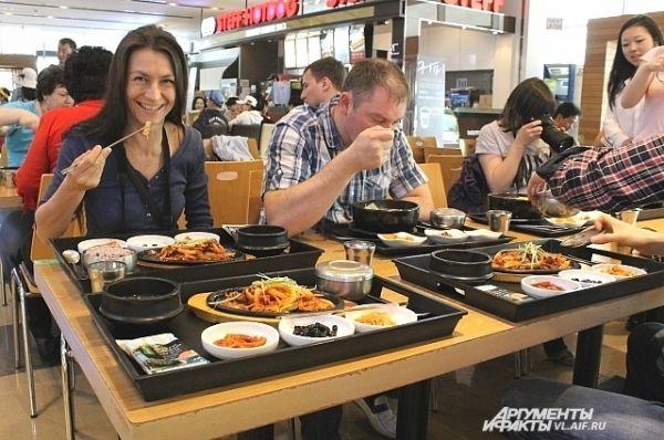 Корейская кухня и красивая, и вкусная.