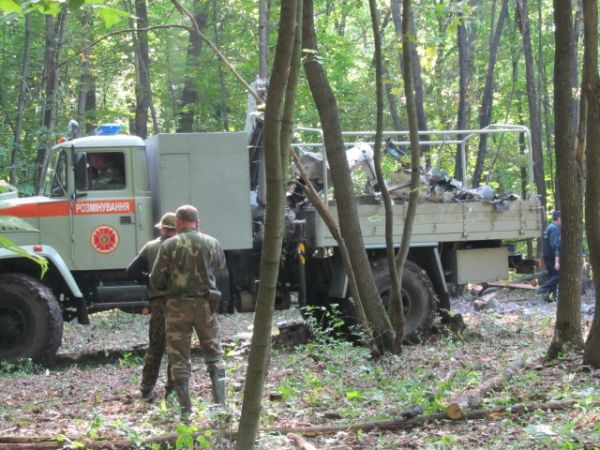 Крушение МИ-8 под Харьковом