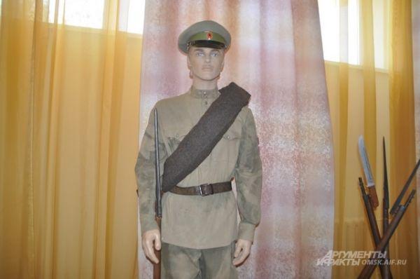 Выставка, посвященная Первой мировой войне.