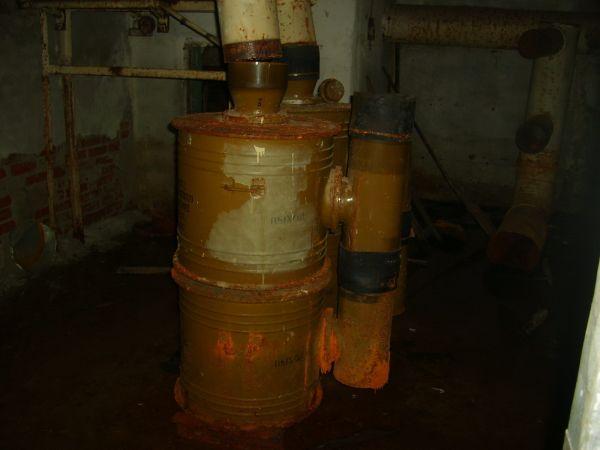 Фильтровентиляционная установка в бомбоубежище