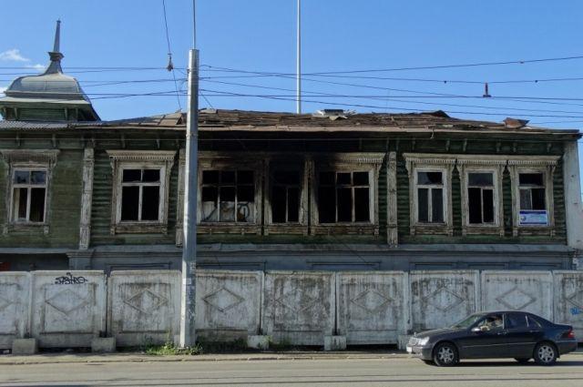 Памятник архитектуры на улице Труда, 56 в Челябинске.