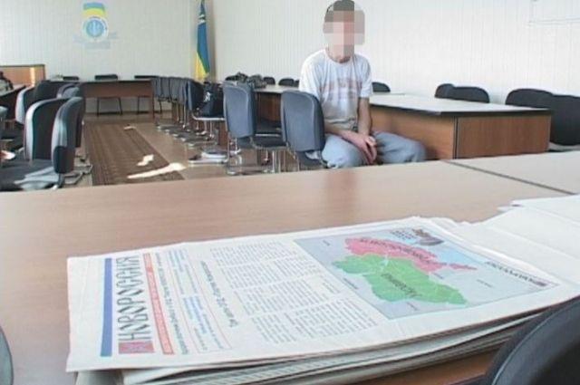 Задержанный сепаратист