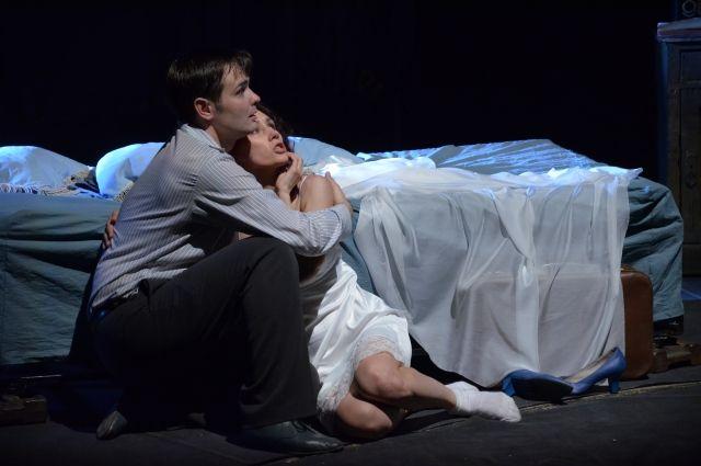 Премьера спектакля «Ромео, Джульетта и тьма».