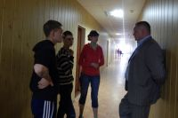 """Беженцы с Донбасса в санатории """"Хилово"""""""