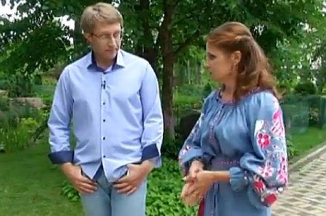 Марина Порошенко в загородном доме