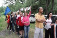 Работники «Ростелекома» приняли участие в турслете.