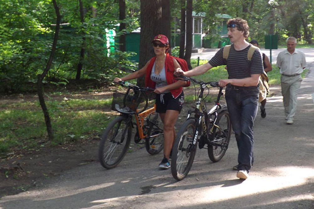 Участники прошли велоквест