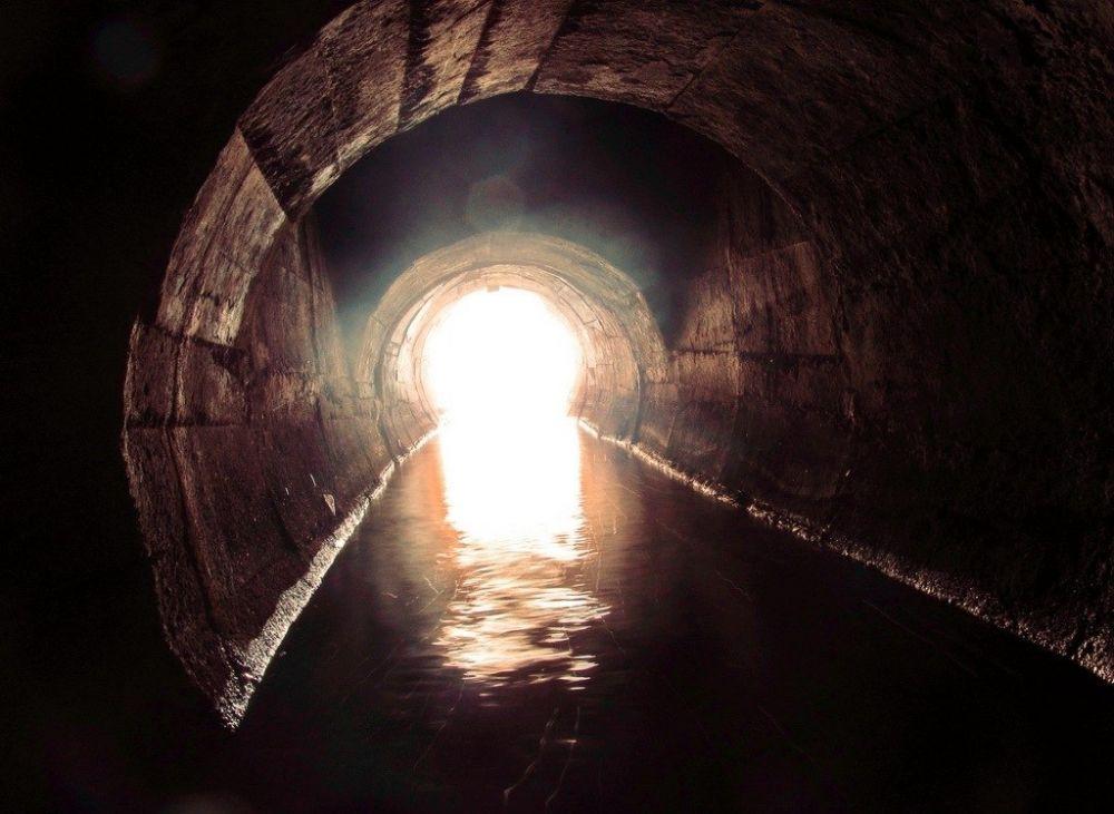 Подземная река в Нижнем Новгороде
