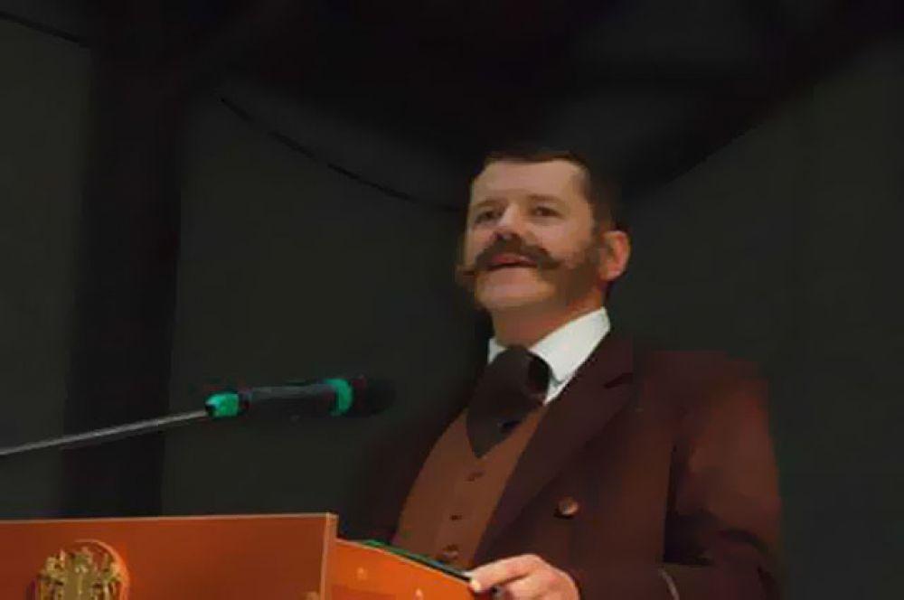 К зрителям вышел сам Иван Гончаров